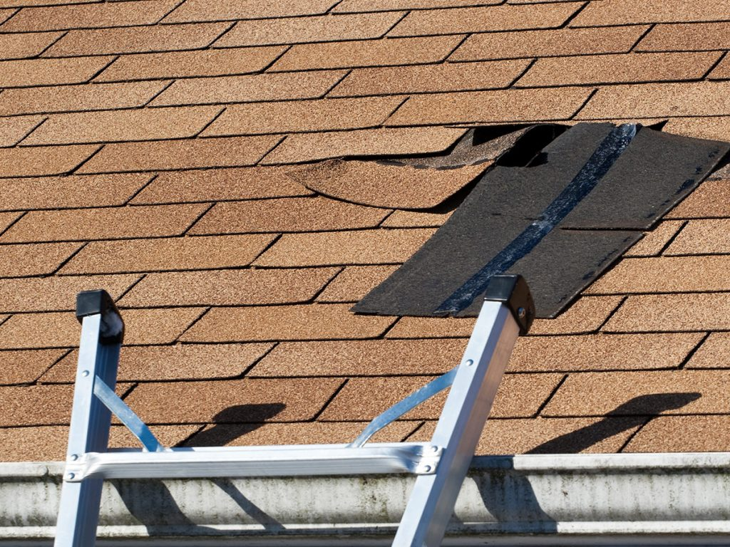Протекает крыша как устранить 112