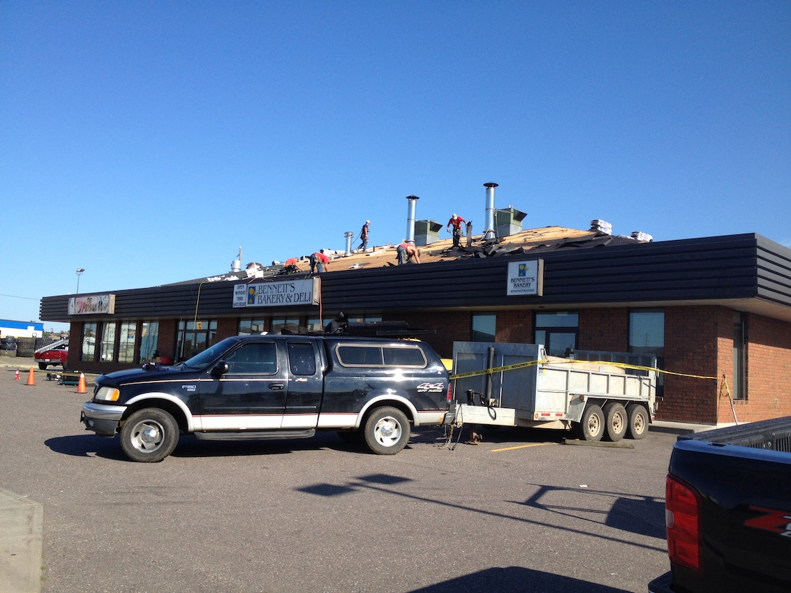 Bakery Single Roof Replacement Burlington Ontario 2