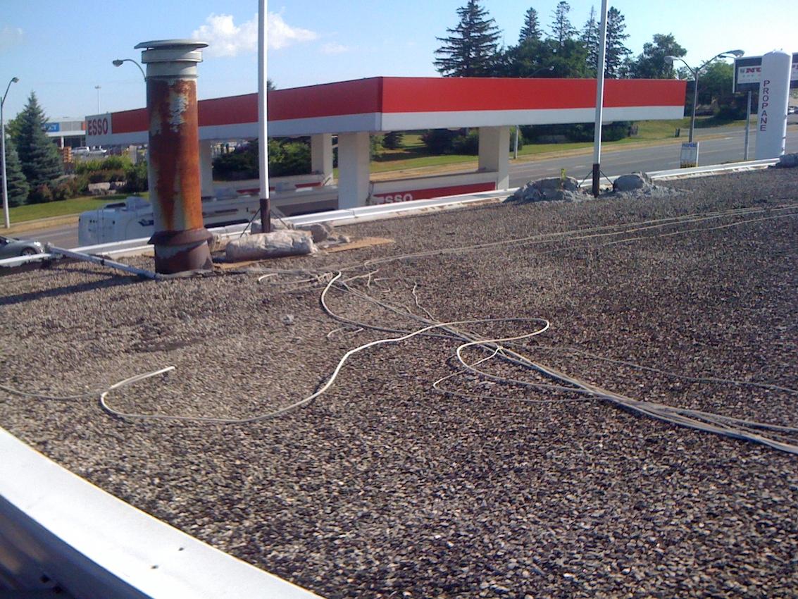 Esso Flat Roof Epdm Woodstock Ontario Watershed Roofing