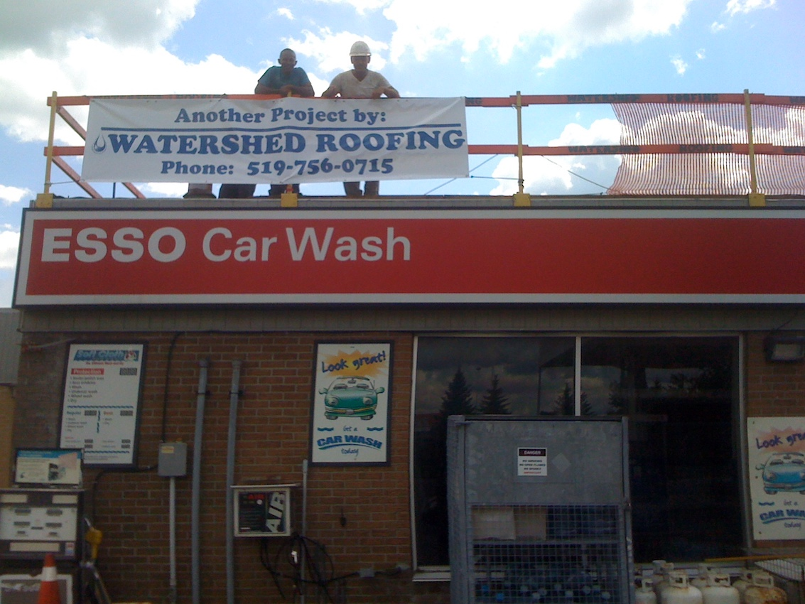 Esso Flat Roof EPDM Woodstock Ontario 3