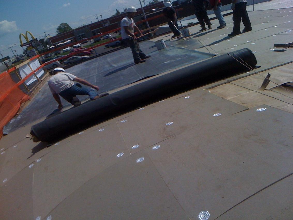 Esso Flat Roof EPDM Woodstock Ontario 5