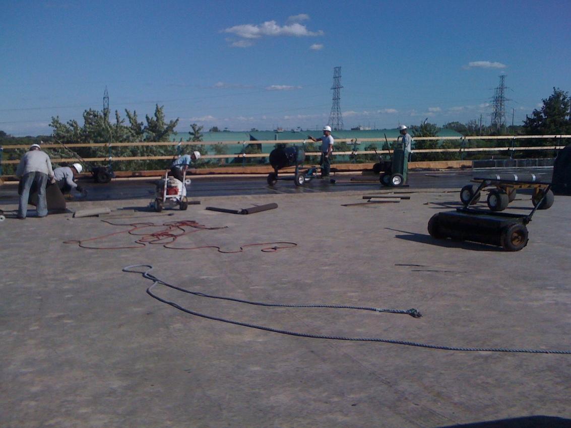 Mod Bit Flat Roof Mississauga Ontario 5