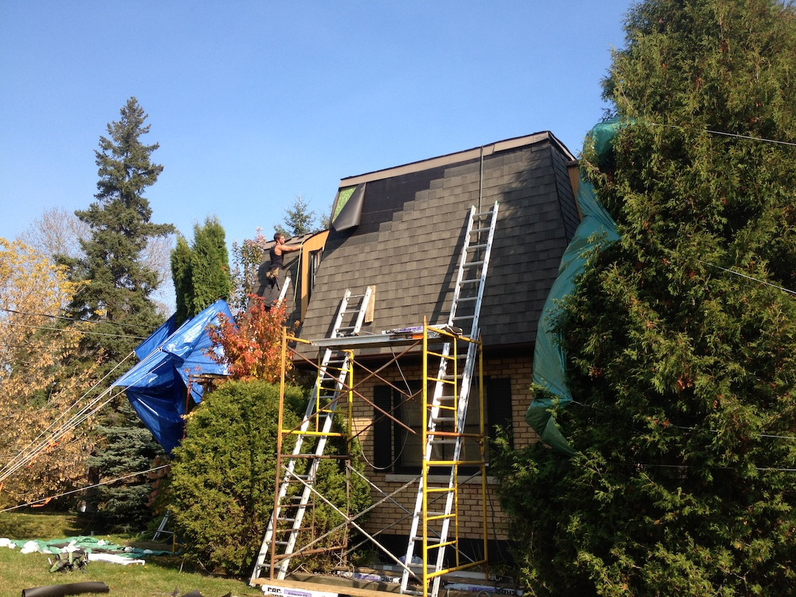 Shingle Roof Replacement Milton Ontario 2