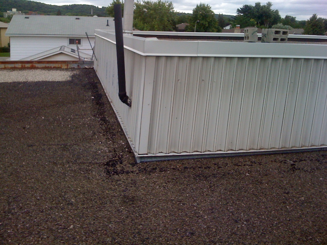 Value Village Stoney Creek Ontario Flat Roof 1