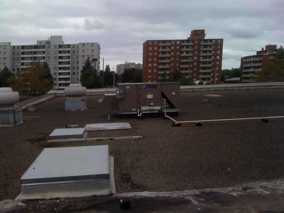 Value Village Stoney Creek Ontario Flat Roof 2